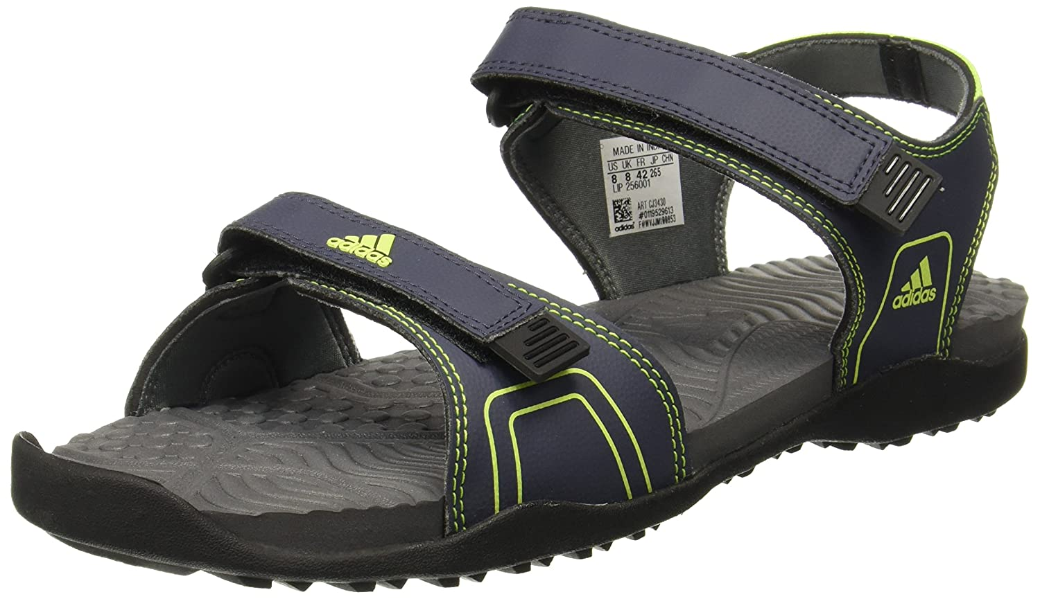91875f5af Adidas Men s Gempen M Trablu Syello Visgre Sandals-10 UK India (44 2 3 EU)  (CJ3430)  Buy Online at Low Prices in India - Amazon.in