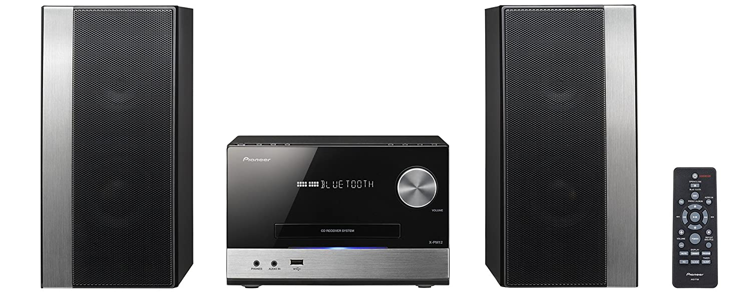 Pioneer X-PM12 Power Micro System with FM Tuner/CD: Amazon.co.uk:  Electronics
