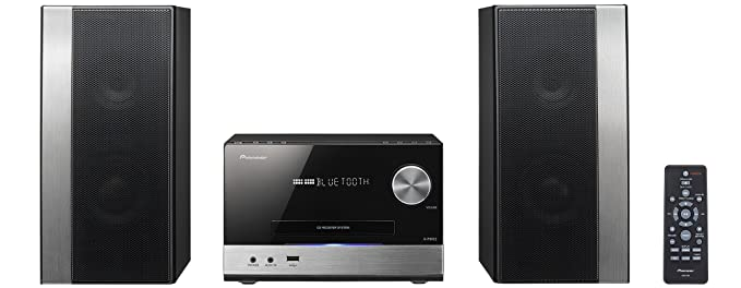 56 opinioni per Pioneer X-PM12 Sistema Power Micro Hi Fi CD, USB, FM, Bluetooth, Nero/Antracite