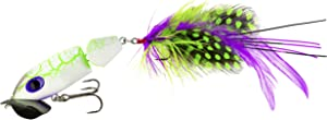 Arbogast Jointed Jitterbug 2.0 Topwater Bass Fishing Lure