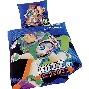 Disney Toy Story Wende Bettwäsche Baumwolle 135x200 Und 80x80 Cm