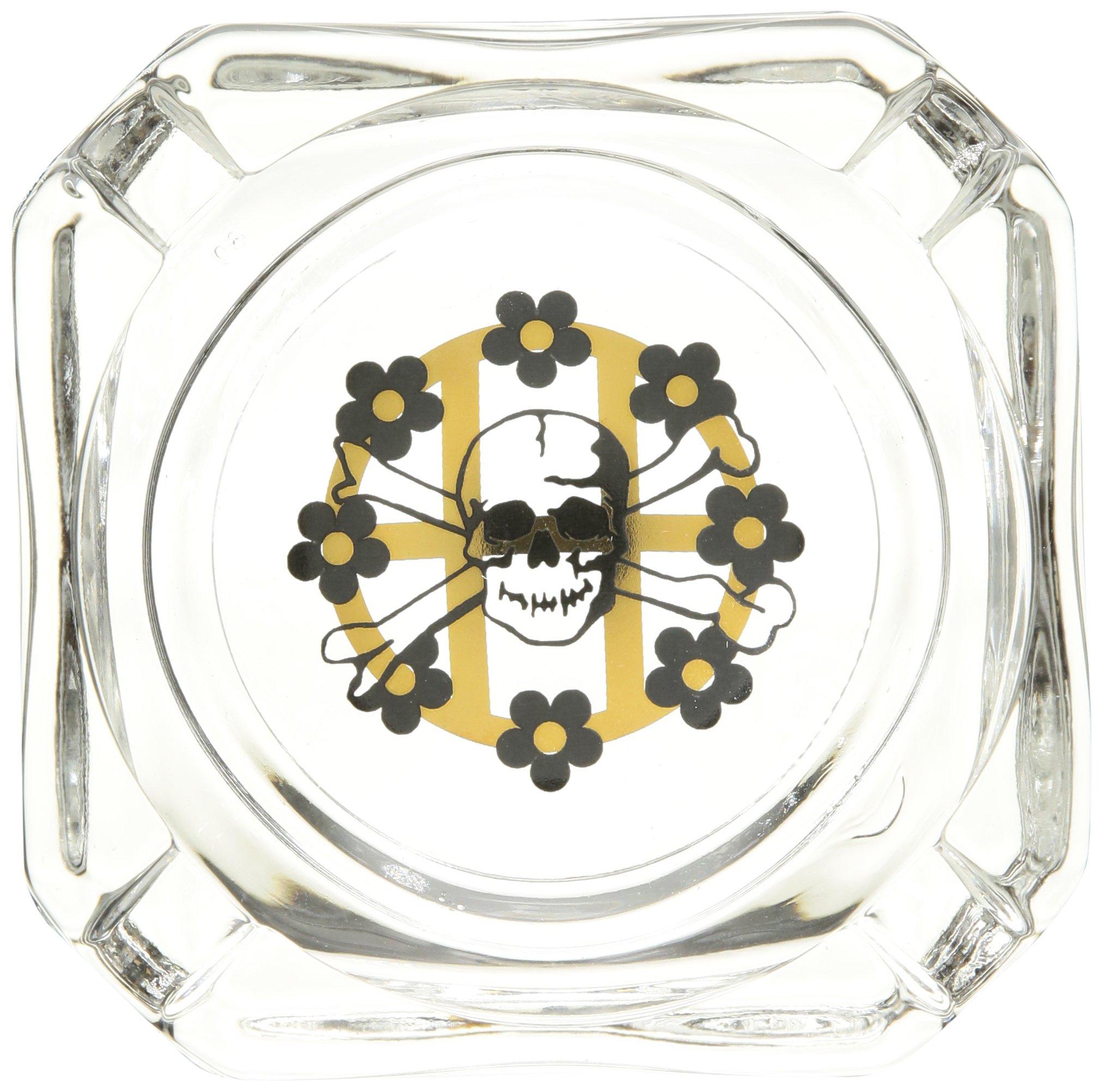 HUF Men's Ashtray, Glass, One Size