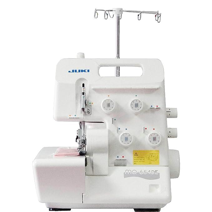 JUKI - Remalladora, Metal, 34 x 27 x 29,5 cm, Color Blanco: Amazon.es: Hogar