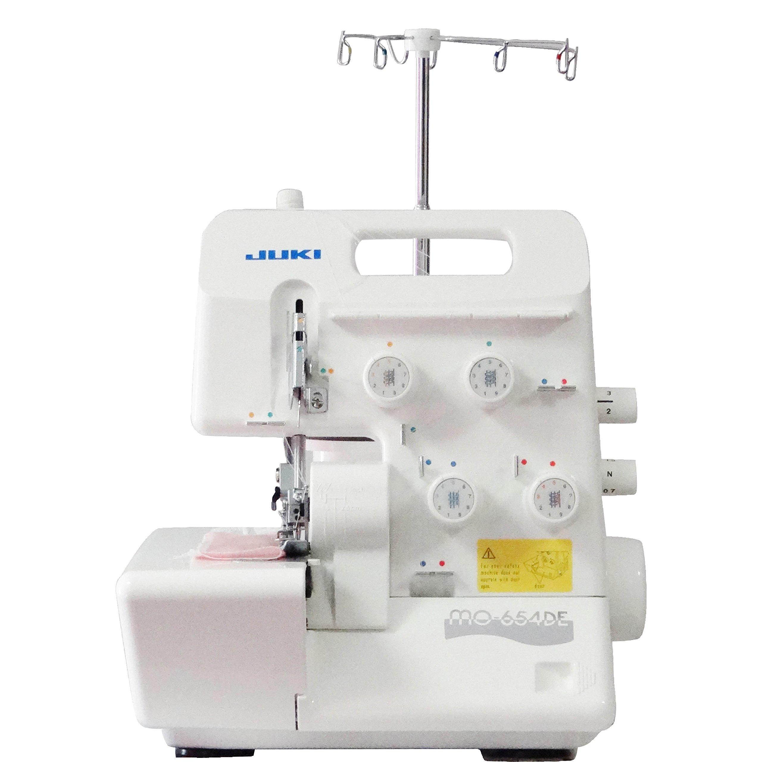 Juki MO-654DE Surjeteuse, Métal, Blanc, 34 x 27 x 29,5 cm product image