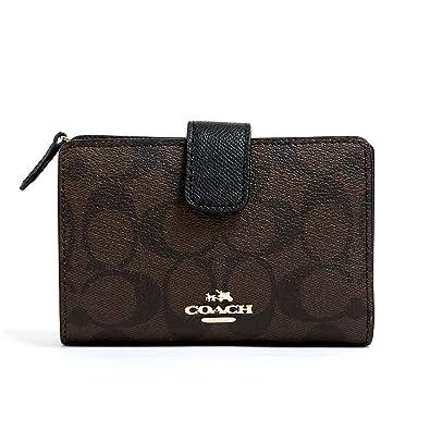 95e64af9dc55 [コーチ] COACH 財布 (二つ折り財布) F53562 ブラウン×ブラック IMAA8 シグネチャー
