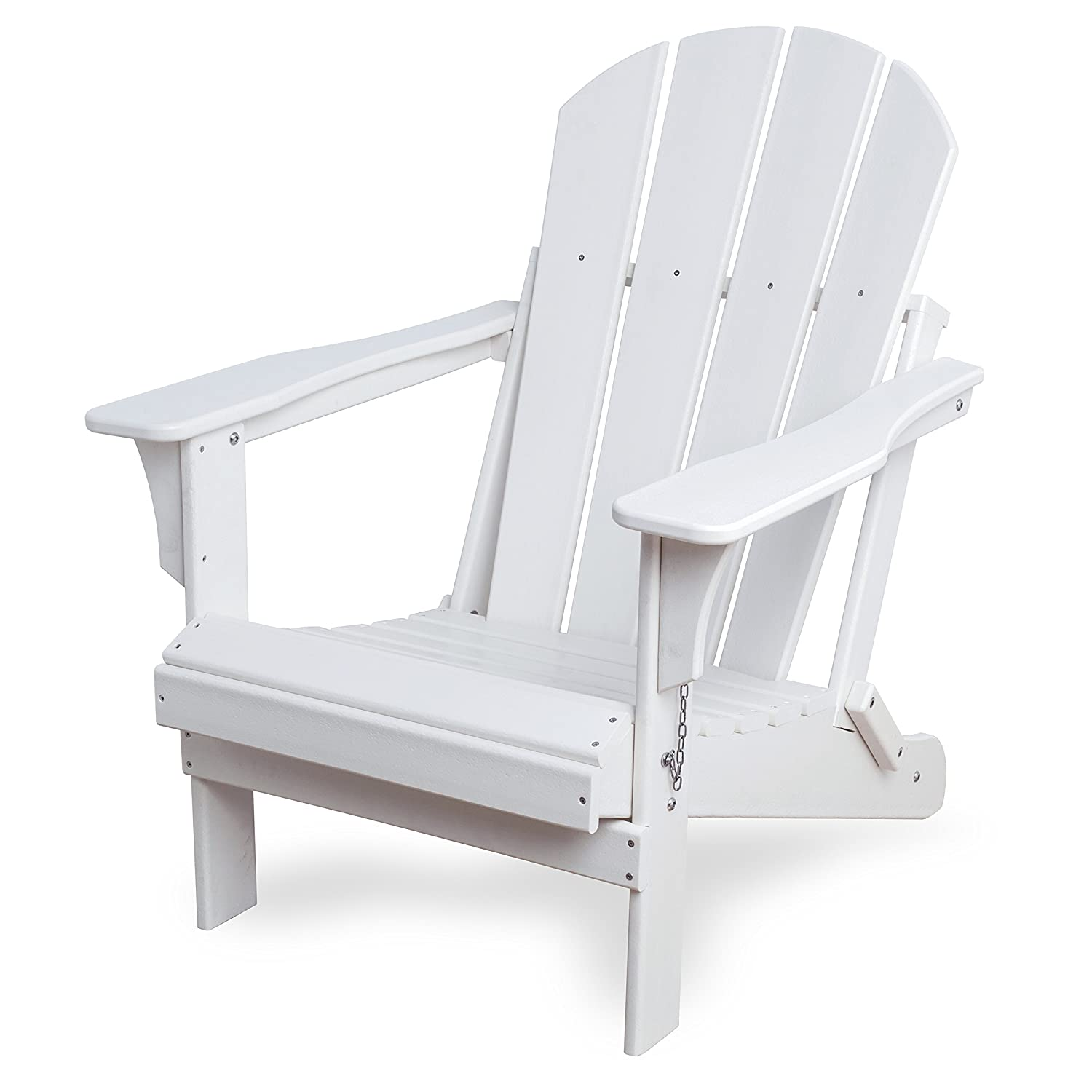 Awesome Amazon Com Westin Outdoor Laguna Poly Adirondack Chair Beatyapartments Chair Design Images Beatyapartmentscom