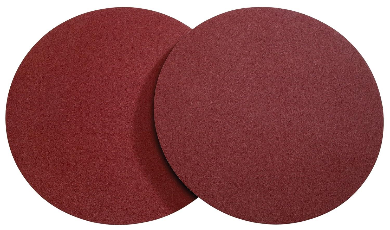 Woodstock D1338 12-Inch Diameter PSA Aluminum Oxide Sanding Disc, 120 Grit, 2-Pack
