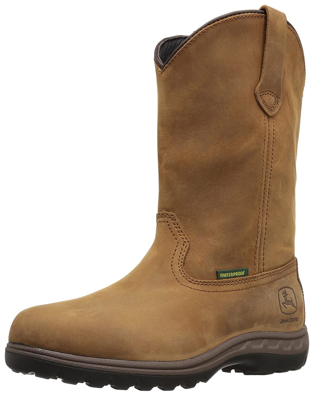 John Deere Women's JD3204 Mid Calf Boot B005PPL7IO 11 B(M) US|Brown