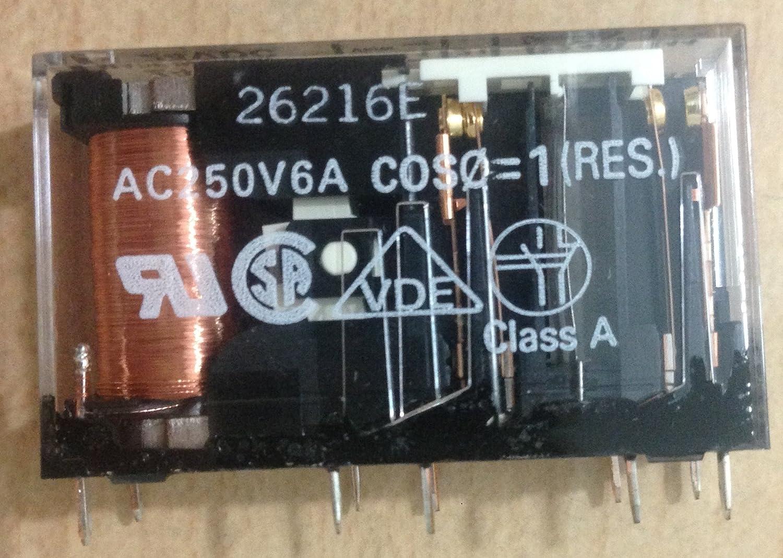 OMRON STI G7SA-2A2B DC24 SAFETY RELAY 24VDC DPST-NO//NC 6A