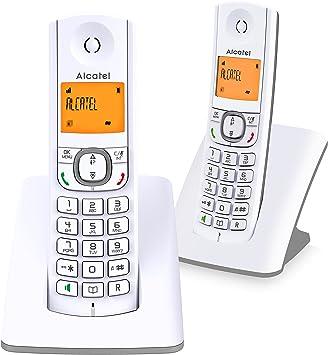 Teléfono Inalámbrico- Alcatel F530 Dúo- Color Gris: Alcatel: Amazon.es: Electrónica