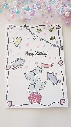 Karte Baby Geburtstag Taufe Hochzeit Freundschaft Danke Muttertag ...