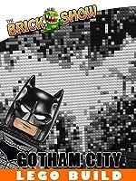 LEGO Gotham City MOC with Arkham Asylum
