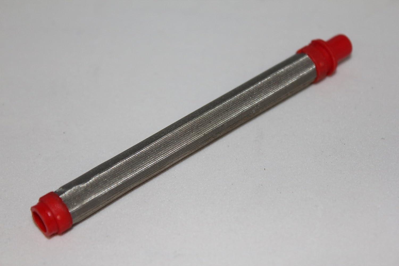 10x 180 - 200 Maschen Filter - Airless Pistolenfilter 200 Mesh rot Noname