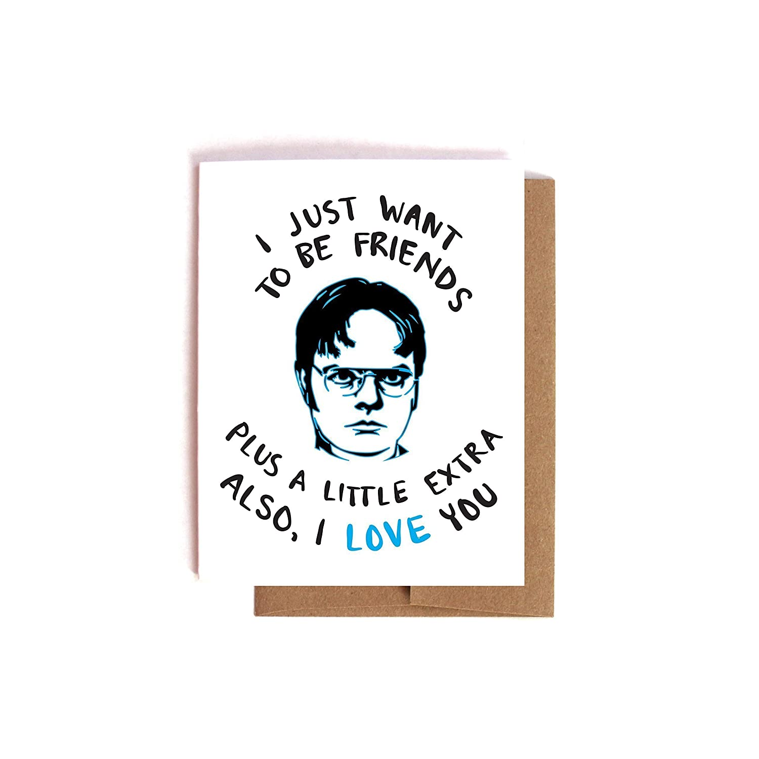 A Little Extra Dwight Schrute The Office Valentine's Day / Anniversary Card
