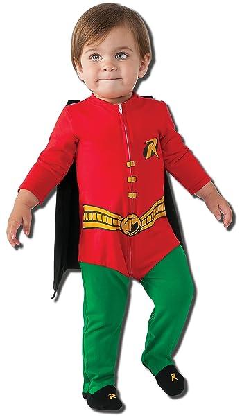 Amazon.com: Rubie s Disfraz del bebé DC Comics Superhéroe ...