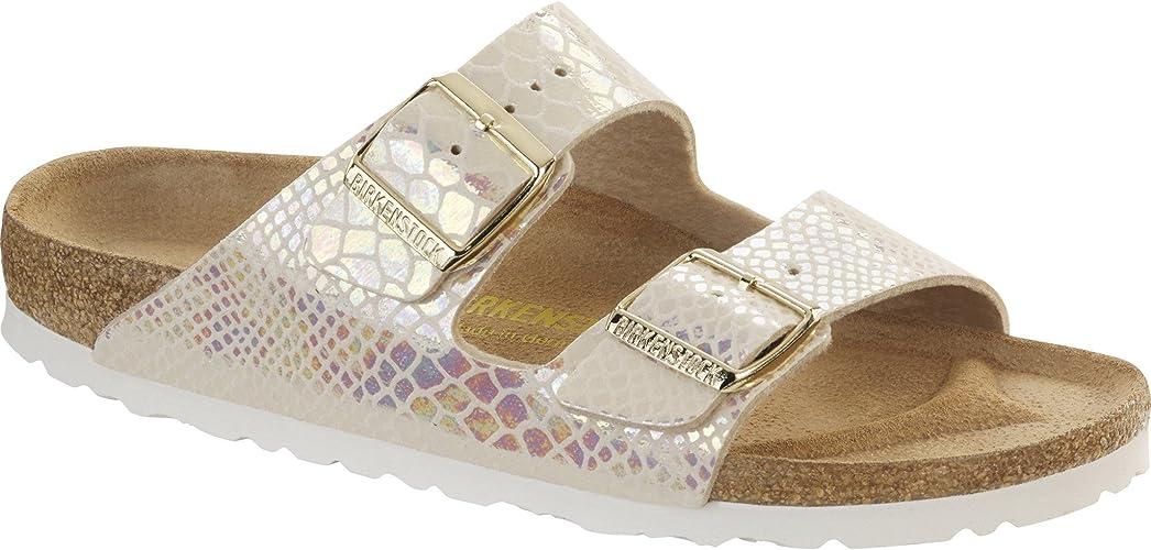 Birkenstock Womens Arizona Birko Flor Sandals