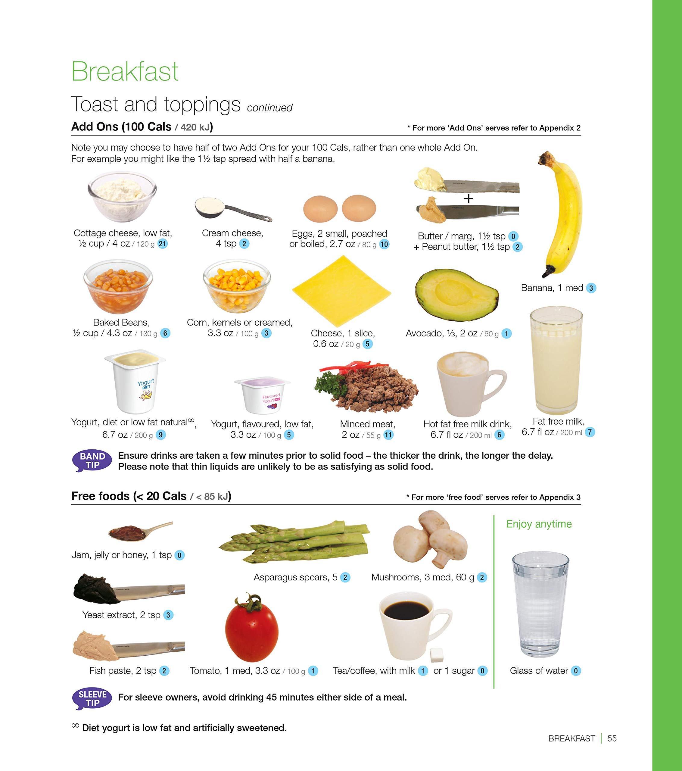 Bariatric Cookbook Surgery Weight Loss Program Kit Easy Tools for Portion Control Dieting After Sleeve Gastrectomy, Gastric Bypass, Balloon & Banding & Free Bonus Vegetable Cookbook by Portion Perfection (Image #7)