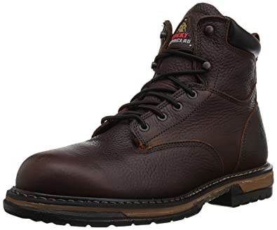 20182017 Shoes Rocky Mens Iron Clad Six Inch LTT Work Boot On Sale