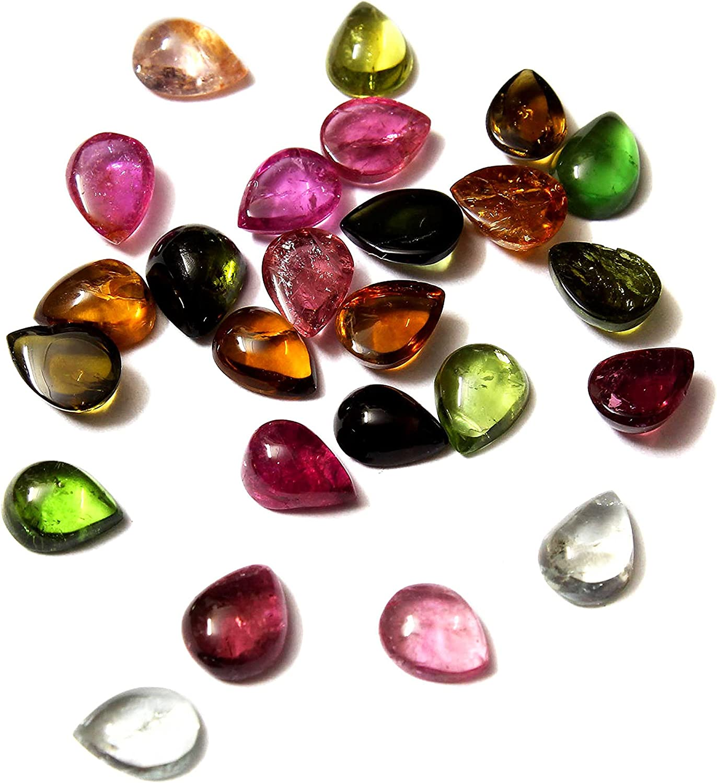 Natural Black Tourmaline Mix Shape Cabochon Loose Gemstone Wholesale Lot
