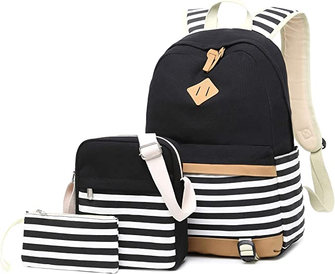 Student Bookbag Lightweight Laptop Bag Camouflage Backpack for Girls Boys Emimarol School Backpack