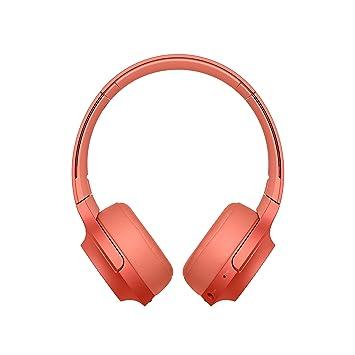 Sony WHH800 - Auriculares de Diadema inalámbricos con Bluetooth, Rojo: Amazon.es: Electrónica