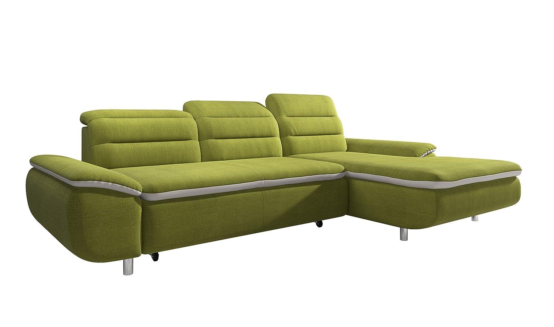 Elegant 2 Sitzer Sofa Mit Recamiere Beste Wahl New Level Solution Polsterecke Funktion Stoff, 169