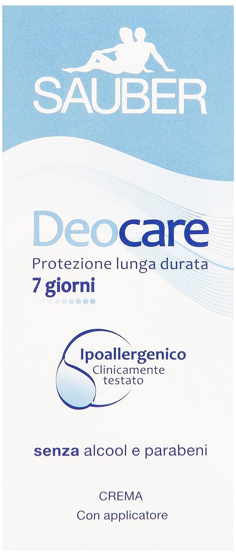 Sauber - Deocare Crema, Protezione lunga durata - 30 ml Italsilva Commerciale srl