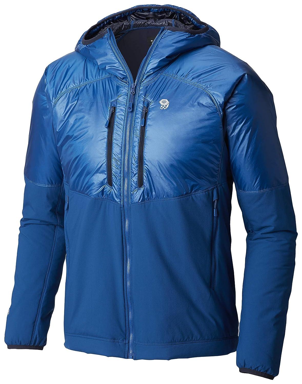 Blau S Mountain Hardwear KOR Strata Alpine Hooded Jacke