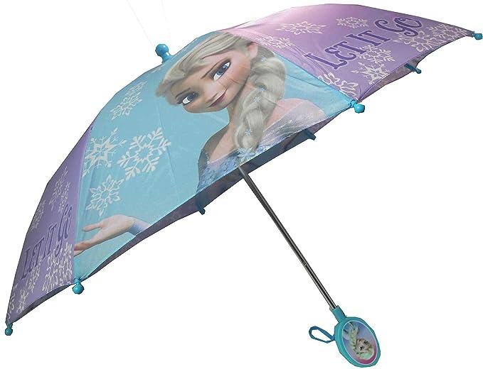 Disney Frozen Niñas Elsa paraguas: Amazon.es: Ropa y accesorios
