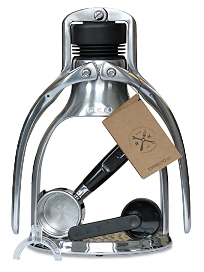 Amazon.com: Rok Manual cafetera de espresso, Cromado ...