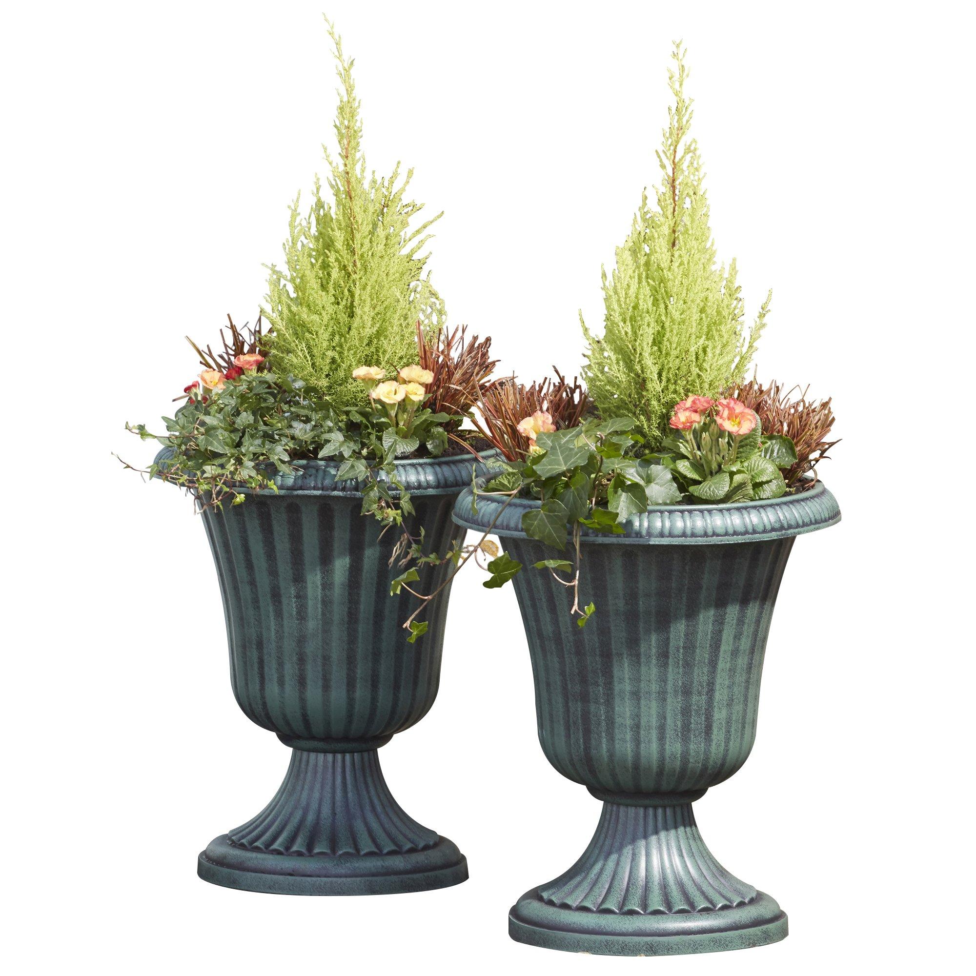 garden urn patio planter outdoor