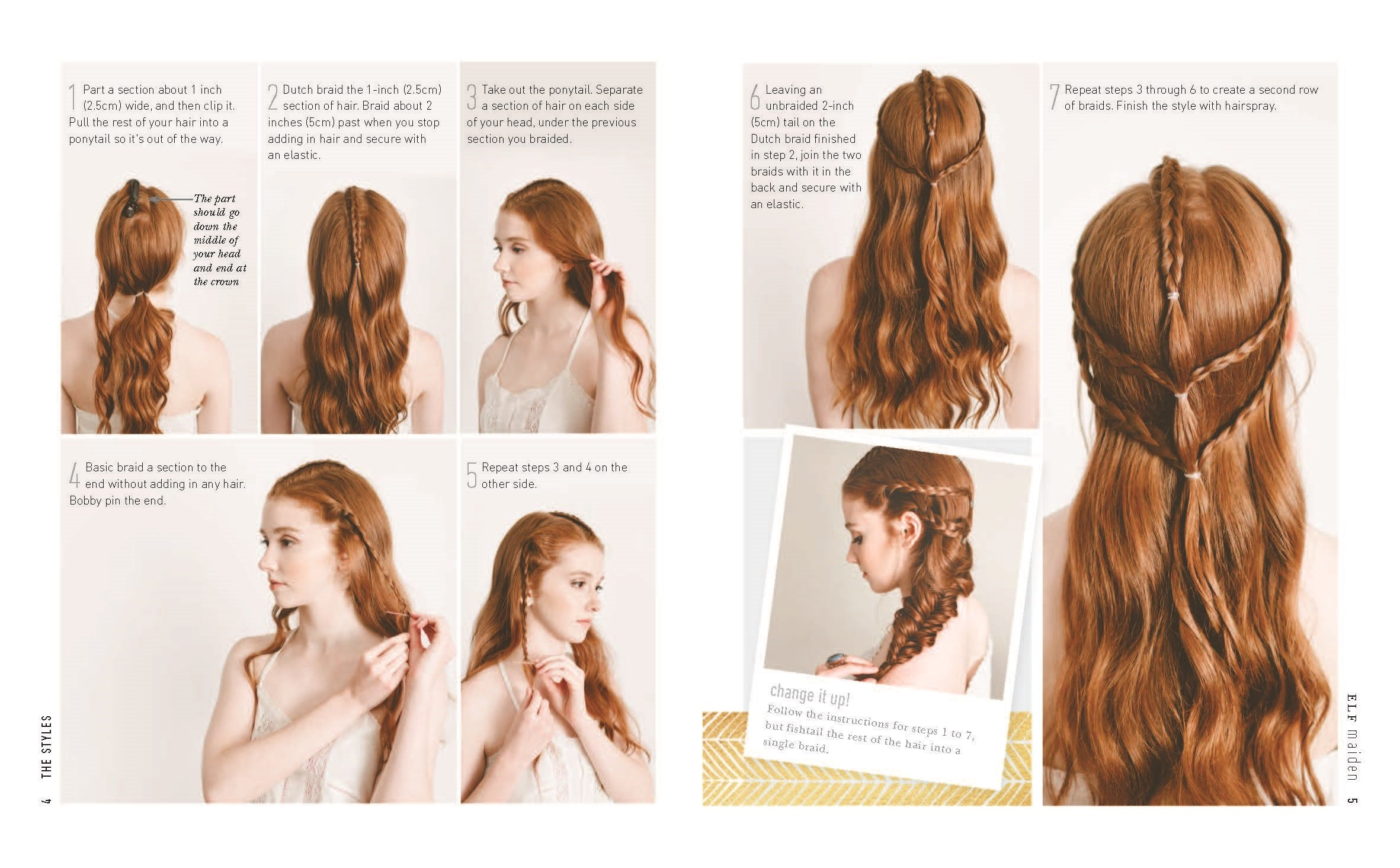 Boho Braids: Modern, Freespirited Hairstyles: Heidi Marie Garrett, Katie  Rossi: 9781465460370: Amazon: Books