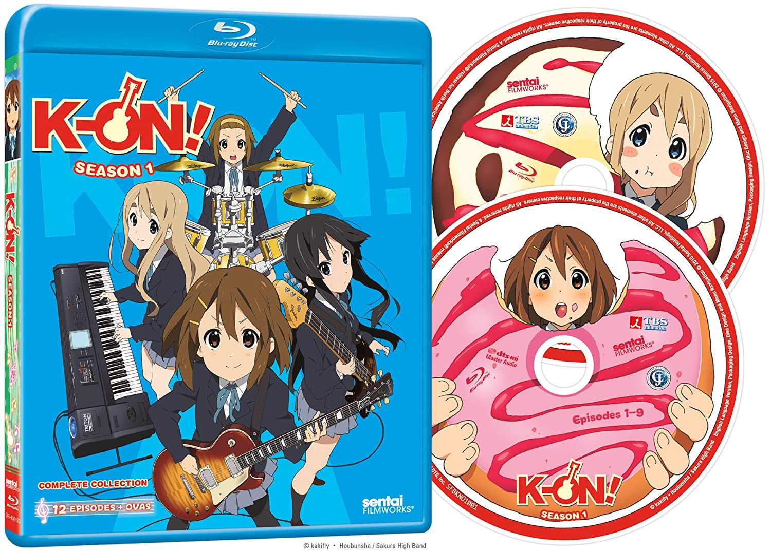 Amazon com: K-On: Season 1 [Blu-ray]: Artist Not Provided