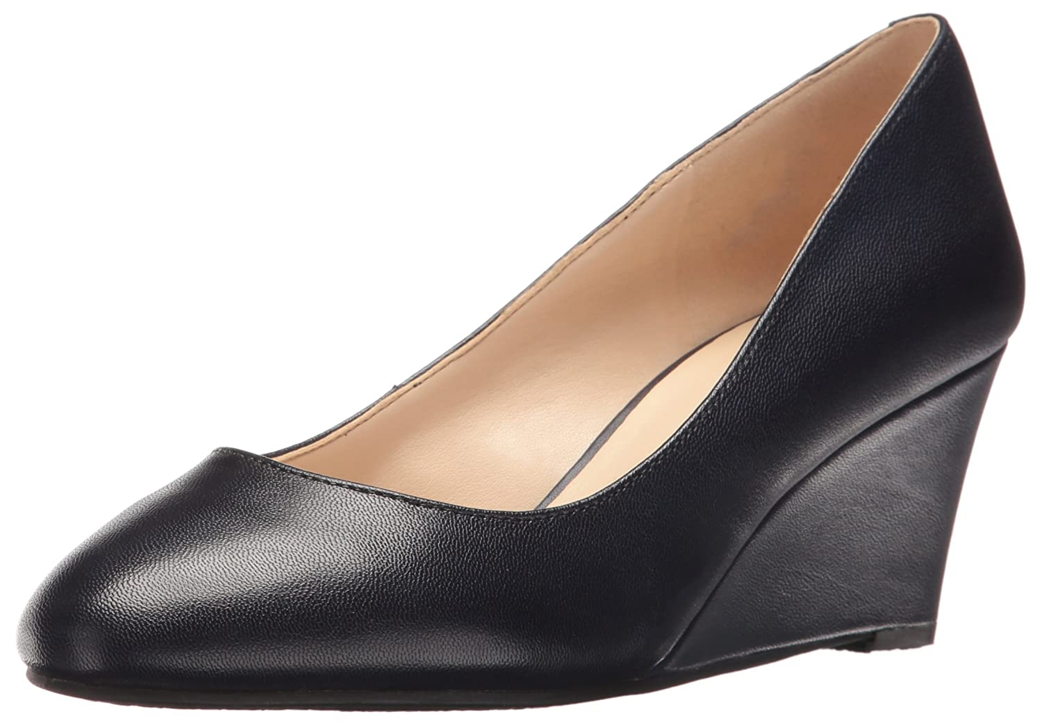 5218a5255b9b Nine West Women s iSpy Leather Leather Leather Wedge Pump B01HDO7T6S 7 B(M)  US ...