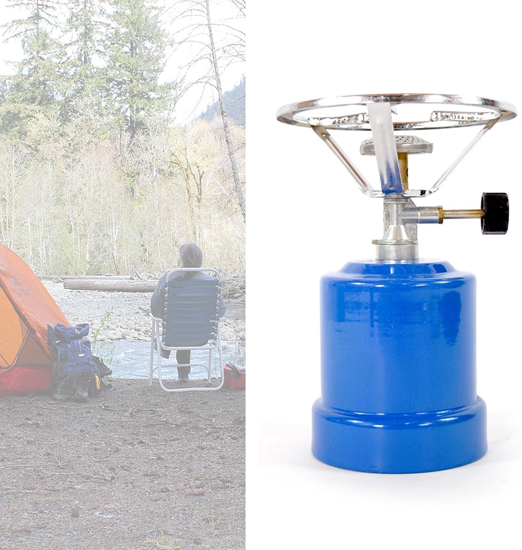 Di Nesh (007) Campingkocher Gaskocher + 4X Kartusche Kocher Camping Küche Zelten Outdoor