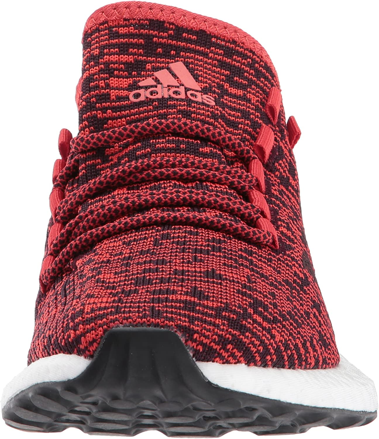 adidas Herren Pureboost Laufschuhe, Night Navy Core Blue Mistery Blue Tactile Red Dark Burgundy Black