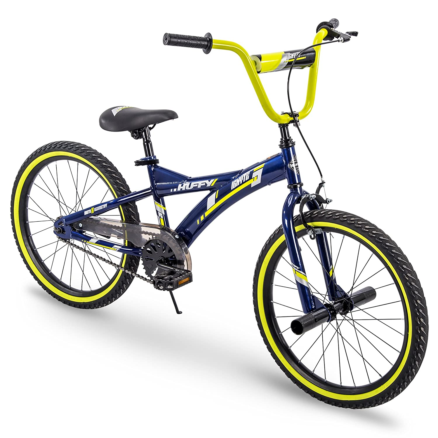 "Huffy 20"" Kid Bike with Front Handbrake & Kickstand"