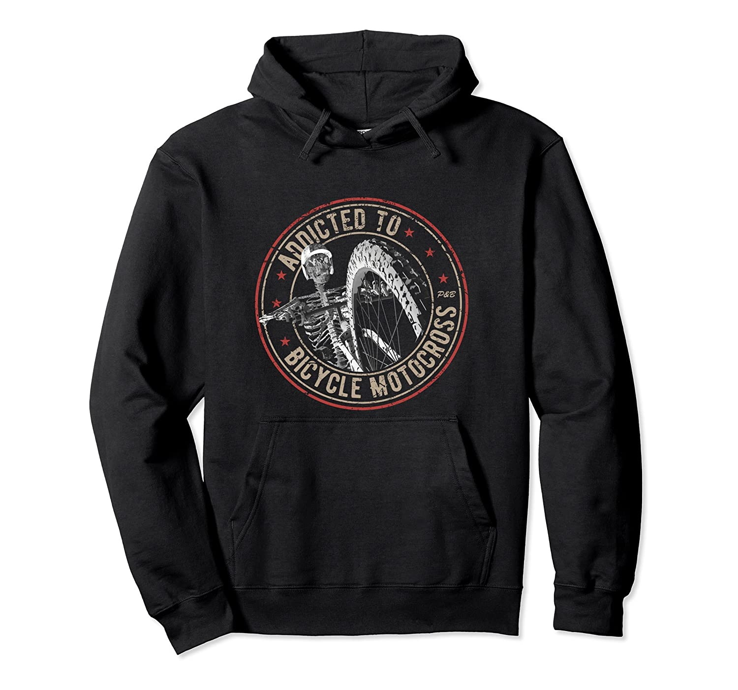 Addicted To BMX Biker Hoodie-mt