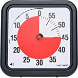 Time Timer 12 inch, 60 minute visual analog timer, desktop or wall mountable, optional alert.