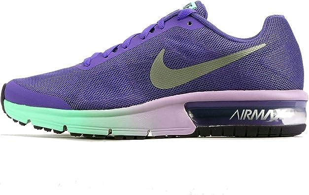 Nike 724984-502, Zapatillas de Trail Running para Niñas, Morado (Dark Iris/Metallic Silver/Urban Lilac), 35.5 EU: Amazon.es: Zapatos y complementos