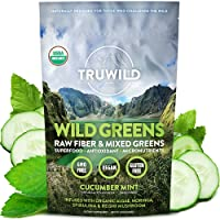 Wild Greens Certified Organic Green Superfood Adaptogen Powder - 22+ Amazing Organic...