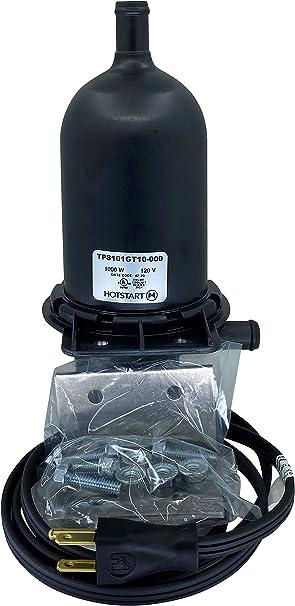 Hotstart Engine Block Heater TPS102GT12-000 1000w 240v Temperature 120-140 F