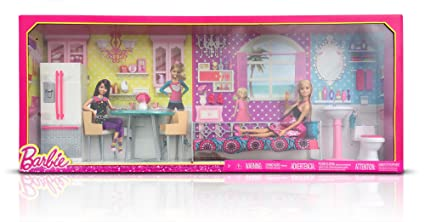 Amazoncom Barbie Dreamhouse Furntiture Giftset Toys Games