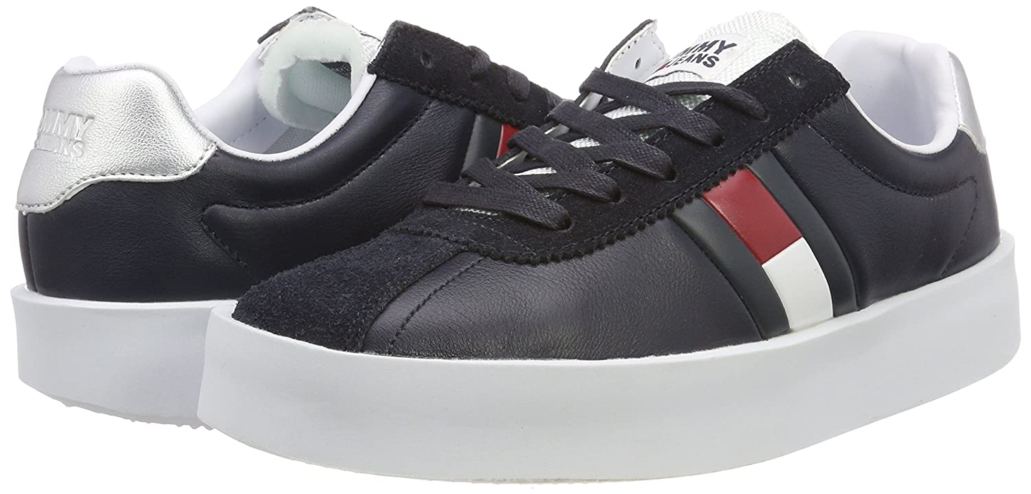 Hilfiger Hilfiger Hilfiger Denim Damen Retro Light Sneaker Blau (Midnight 403) 23881d