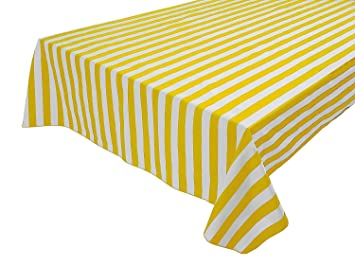 Bon Vpang 2 Pcs Striped Plastic Tablecloth Disposable Table Cover Thickened  Rectangle Tablecover For Kitchen Picnic Wedding