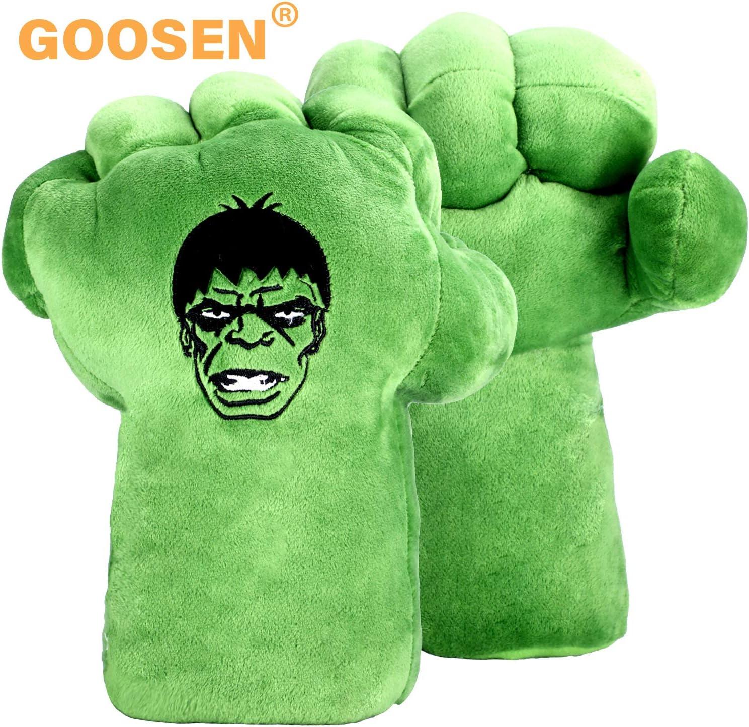 GOOSEN78 Hulk Hands Gloves for Kids, Hulk Cosplay Costume Accessories, Hulk Toy (1 Pair)