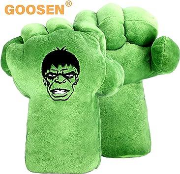 GOOSEN78 Hulk Guantes de Mano Puños para niños, Hulk Cosplay ...