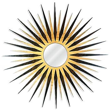 Amazon.com: Midcentury Modern Decor \'MCM Starburst Mirror-Walnut ...