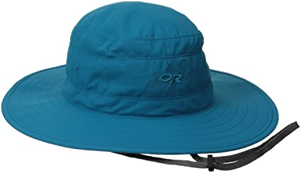 59dc746f Outdoor Research Women's Solar Roller Sun Hat, Alpine Lake/Dark Grey, Medium