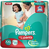 Pampers XXL Size Diapers Pants (22 Count)